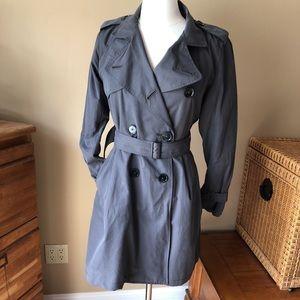 GAP Gray Trench Coat
